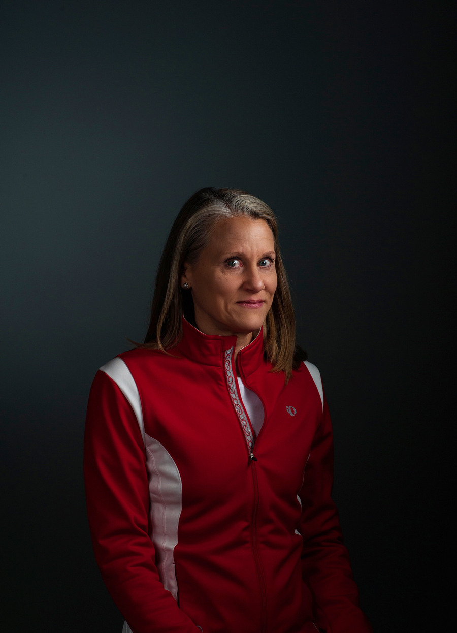 Distinguished women dressed in athletic wear. Formal portrait.   Kenneth M. Ruggiano is a portrait photographer living in Tulsa, Oklahoma specializing in Sports and Athletic Photography.